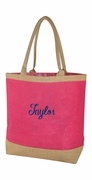 Personalized Jute Bag