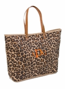 Personalized Leopard Tote