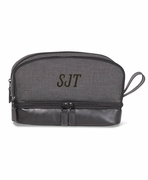 Personalized Man Toiletry Bag | Monogram