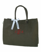 Personalized Mother of Groom Tote | Embroidered