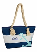Personalized Nautical Tote Bags