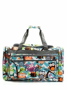 Personalized Owl Duffle Bag
