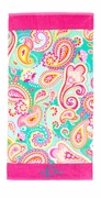 Personalized Paisley Beach Towel | Monogram