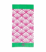 Personalized Shell Beach Towel | Monogram