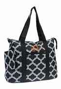 Personalized Tote Bag Quatrefoil