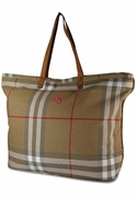 Personalized Tote Bags | Tartan Plaid