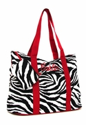 Personalized Zebra Travel Bag