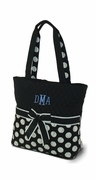 Polka Dot Diaper Bag