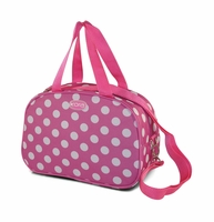 Polka Dot Insulated Lunch Tote