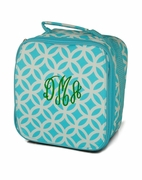 Quatrefoil Pattern Lunch Box