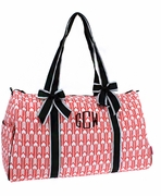 Quilted Aztec Arrow Duffle Bag | Monogrammed