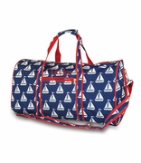 Sailboats Duffle Bag | Personalized