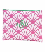 Shell Pattern Cosmetic Accessory Bag