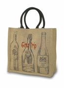 Six Bottle Wine Travel Tote