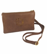 Small Wallet Faux Leather Cross Body | Monogram