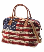 Stars and Stripes Weekender Duffle Bag