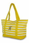 Stripe Beach Bag | Personalized | Monogrammed