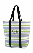 Striped Beach Tote
