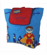 Super Hero Toddler Backpack | Monogram | Personalized