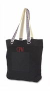 Tall  Ribbon Tote Bag | Personalized