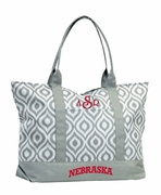 University Nebraska Tote Bag | Monogrammed