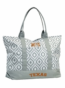 University Texas Tote Bag - Embroidered   Personalized