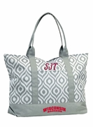Wisconsin University Tote Bag | Monogram