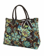 Women's Quilted Tote Bag-Monogrammed