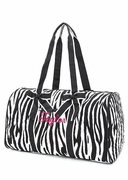 Zebra Duffle Bag