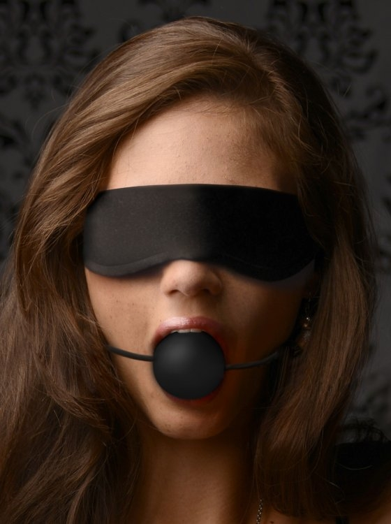 Blindfold And Gag 69
