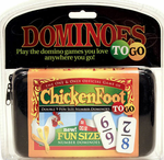 Chickenfoot Travel Set ! Double 9 - NUMBERS