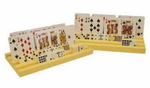 Domino Card Tray -Plastic (Set of 2)