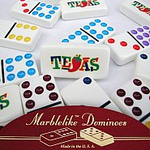 Custom Double 9 Dominoes  <b>Silk Screened</b>