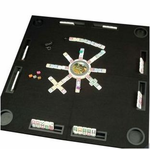 <b>Game Table With Racks & Drink Holders</b>