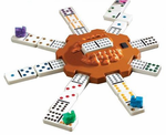Mexican Train Set in Carrying Case- -PROFESSIONAL  SIZE!