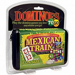 <b>Mexican Train Travel Set- Double 12 NUMBERS</b>
