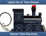 Mexican Train Whistle Key Chain