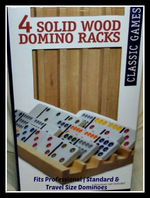 Wood Racks- Set of 4