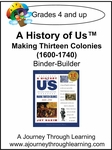 A History of Us Book 2- Making Thirteen Colonies Binder-Builder-14.00