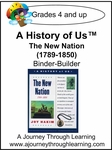 A History of Us Book 4- The New Nation Binder-Builder Lapook-14.00