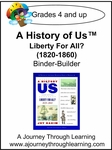 A History of Us Book 5- Liberty for All? Binder-Builder Lapbook-14.00