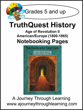 Age of Revolution ll Notebooking Pages