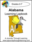 Alabama State Study Lapbook--4.50