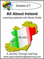 All About Ireland/St. Patrick's Day Lapbook with Study Guide-8.00