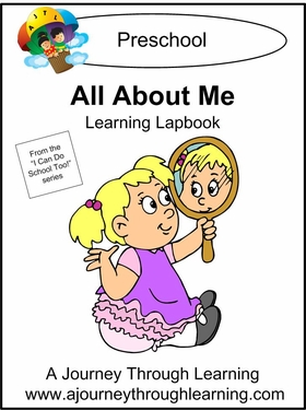 All About Me Preschool Lapbook-8.00