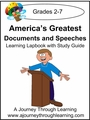 America's Greatest Documents and Speeches Lapbook with Study Guide-8.00