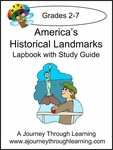 America's Historical Landmarks Lapbook with Study Guide--8.00