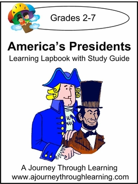 America's Presidents Lapbook with Study Guide-4.50