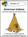 American Indians Lapbook with Study Guide--8.00