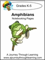 Amphibians Notebooking Pages--4.50